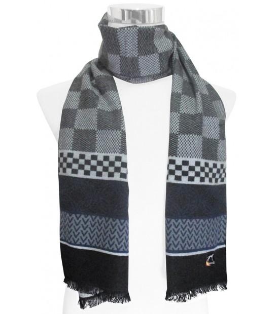 bufandas realizadas en diferentes tejidos variedad en modelos y colores
