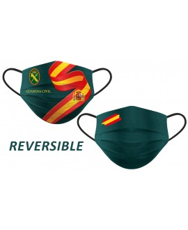 MASCARILLA HIGIENICA REUTILIZABLE REVERSIBLE GUARDIA CIVIL