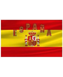 BANDERA ESPAÑA ESCUDO CONSTITUCIONAL 150 X 90 CM