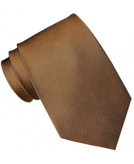 CORBATA SEDA MARRON CHOCOLATE