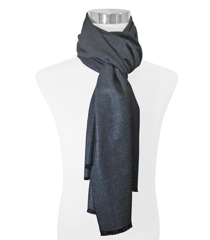 elegante bufanda pashmina con diseño de espiga en diferentes colores