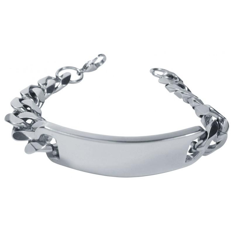 c1695c2328af robusta pulsera tipo esclava para hombre fabricada en acero quirurgico