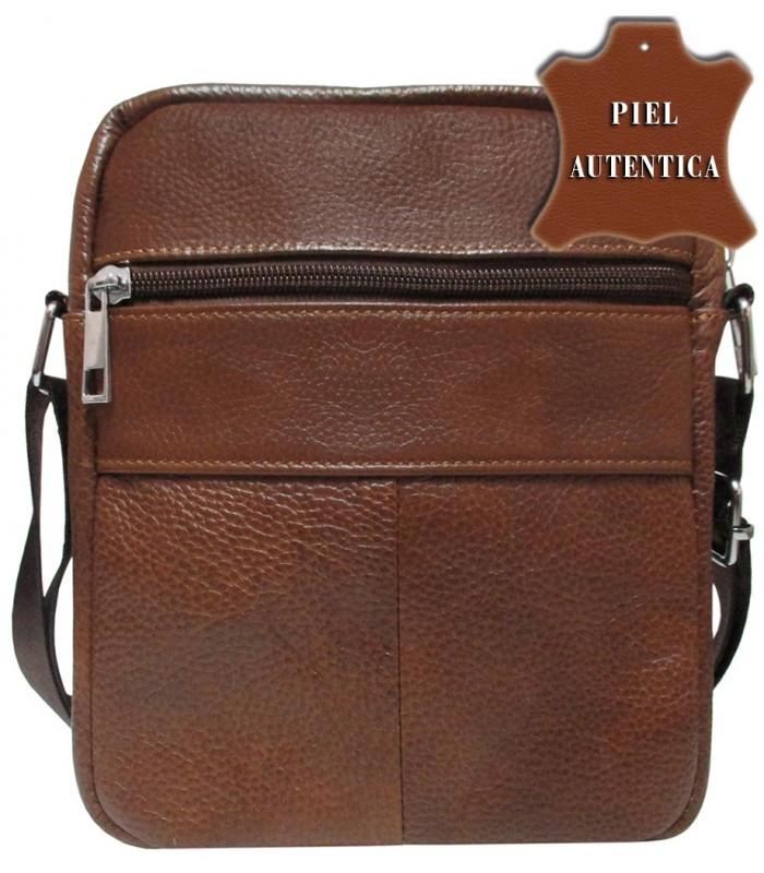 758a3ef8a528a bolso mediano tipo bandolera en piel vacuno uso muy comodo color cuero