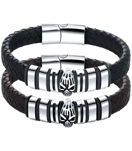 25dab9bfa6ca pulsera para hombre fabricada artesanal en cuero regaliz con pespunte